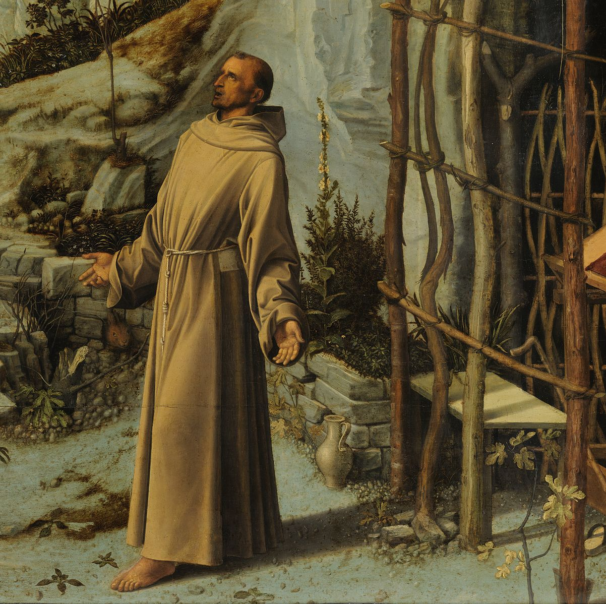 Giovanni bellini   saint francis in the desert   google art project x1 y1